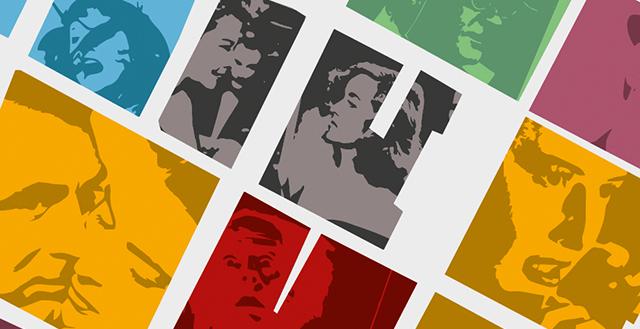 Immagini colorate di scene di famosi film