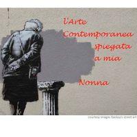 Lo street artist Banksy ha prestato una sua opera per la locandina della rassegna