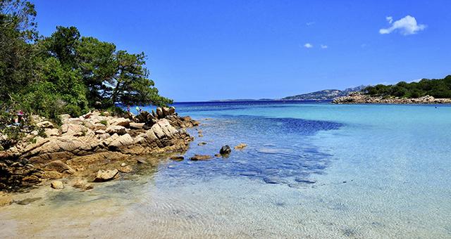 Spiaggia e mare in Sardegna