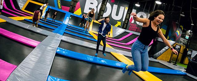 Bounce action park