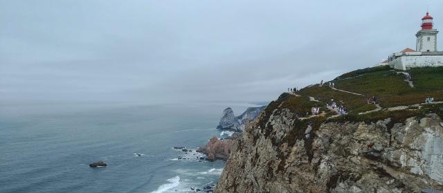 Cabo da Roca - scogliera e faro