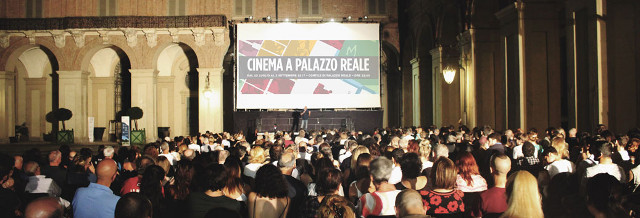 Cinema a Palazzo Reale