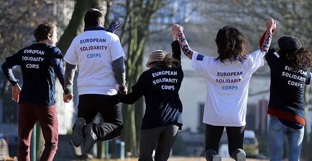 Volontari Corpo Europeo di Solidarietà