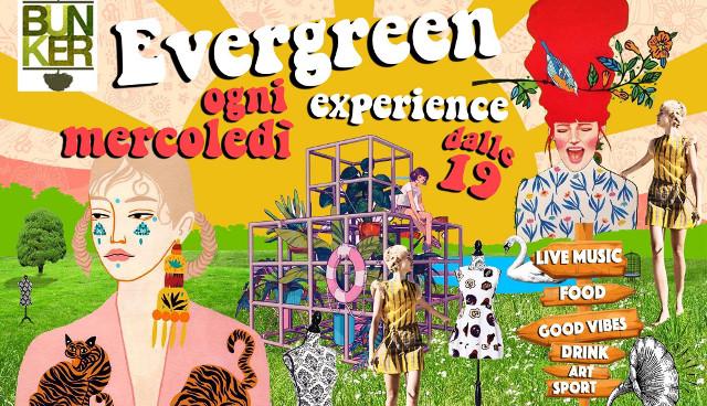 Locandina Evergreen Experience cibo
