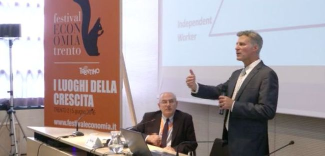 La conferenza dell'economista Alan Krueger