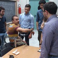 Alcuni studenti del progetto Hackability