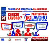 Domani al PalaAlpitour apre il salone IoLavoro