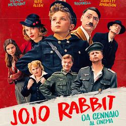 Collage di personaggi - Jojo Rabbit