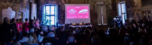 La conferenza stampa al Castello del Valentino