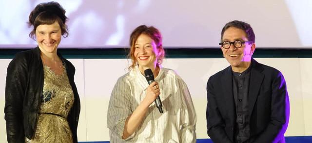 Irene Dionisio e Alba Rohrwacher all'inaugurazione del Lovers Film Festival