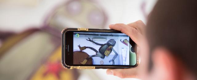 Il Maua anima i murales grazie a un'app per la realtà aumentata
