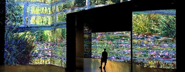 La mostra multimediale su Monet è alla Palazzina di Caccia di Stupinigi