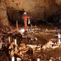 La grotta francese dove sono state