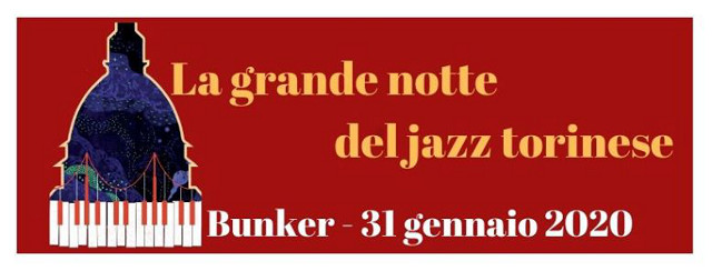 Locandina grande notte torinese del jazz
