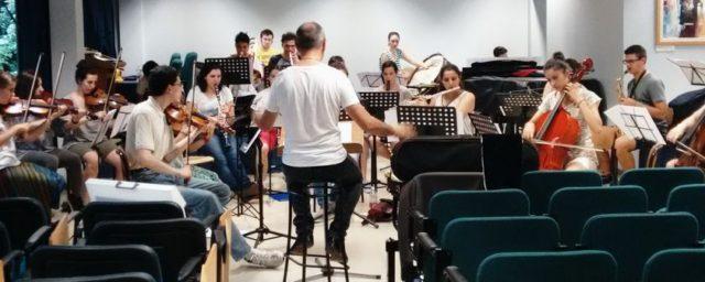 Le prove dell'Orchestra Cfm