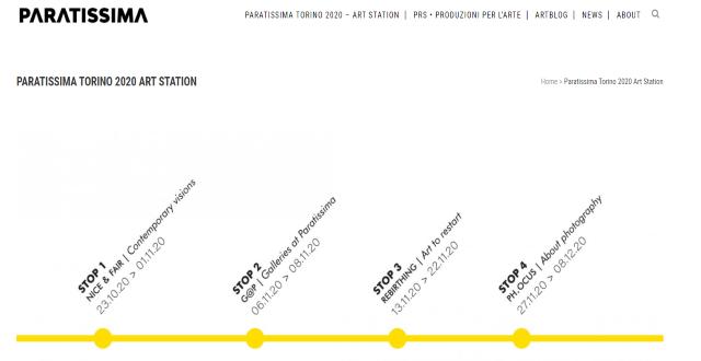 Il percorso a tappe di Paratissima 2020 - Paratissima Art Station