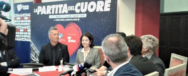 La conferenza stampa della Partita del Cuore