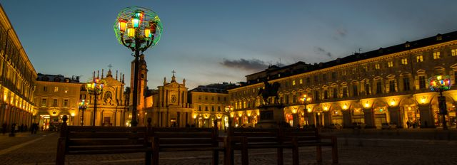 Piazza San Carlo - Photo by Federico Mereu - eyes