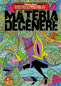 Copertina raccolta fumetti Materia Degenere