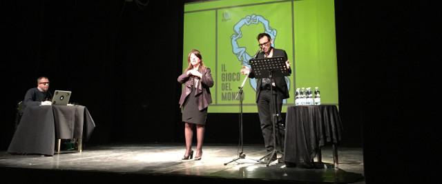 La presentazione del Salone del libro al teatro Espace