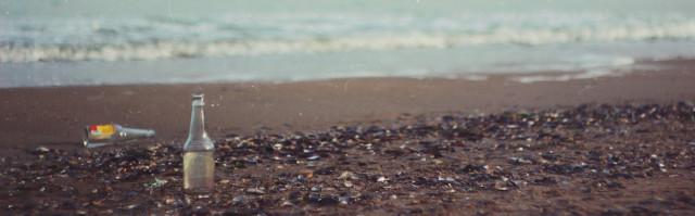Rifiuti spiaggia ambiente