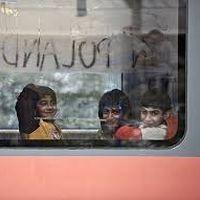 Giovani rifugiati ceceni in Polonia