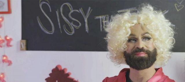 Mattia Surroz in versione drag queen