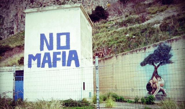Casetta Capaci No alla mafia