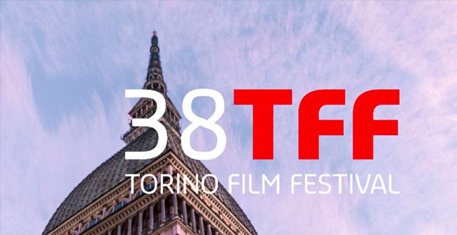 Scritta 38 TFF Torino Film Festival con Mole Antonelliana