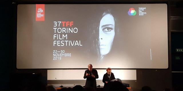 Emaniela Martini durante la presentazione di Sunset Boulevard -Torino Film Festival 2019