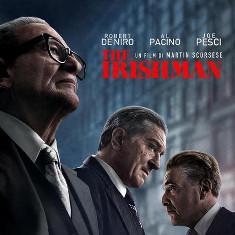 Joe Pesci, Robert De Niro e Al Pacino - Locandina The Irishman