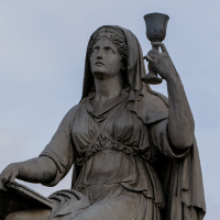Torino misteri statua Graal