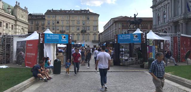 Piazza Carlo Alberto ha ospitato Turin Coffee, il Salone del caffè
