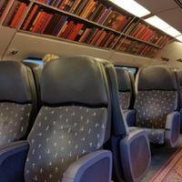 Il vagone biblioteca dei treni olandesi