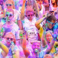 La Color Run di Torino dello scorso anno