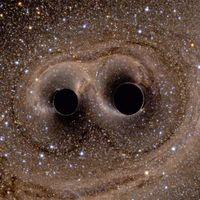 Le onde gravitazionali deformano lo spaziotempo